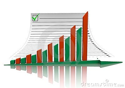 Business Graph And Document Royalty Free Stock Image - Image: 19563016