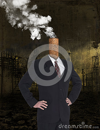 Free Business Greed, Profit, Global Warming, Pollution Royalty Free Stock Photo - 93378585