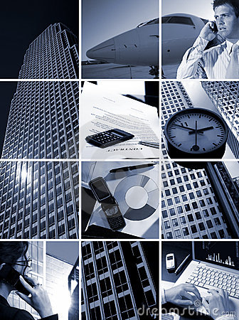 Free Business Grid - Time Is Money Royalty Free Stock Photos - 2537298
