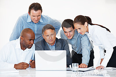 Business group working