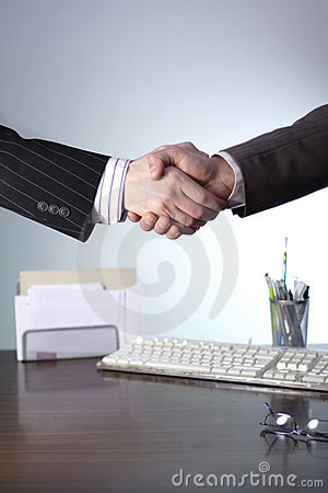 Free Business Handshake Stock Image - 529491