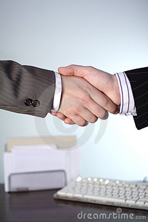 Free Business Handshake Stock Photography - 529492