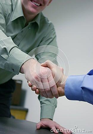 Free Business Handshake Stock Images - 796784