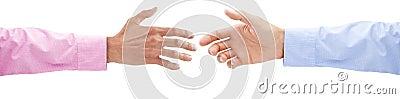 Business Handshake Hands