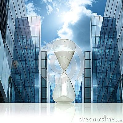 Business hourglass