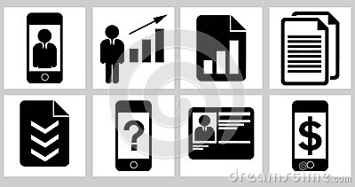 Business icons 02