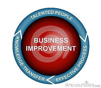 Business Improvement Diagram