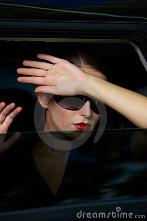 Free Business In Limo Royalty Free Stock Image - 10713416