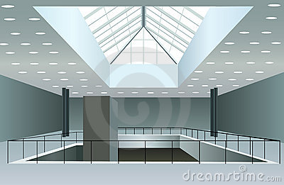 Business interior vector
