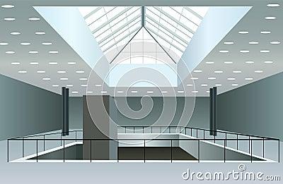 Business interior vector
