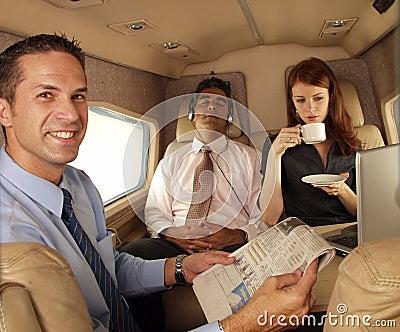 Business jet.