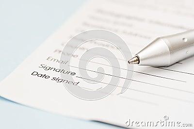 Business Letter Signature