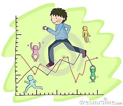 Business Line Illust