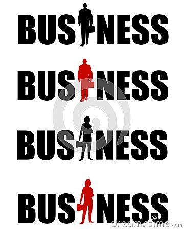 Business Logos Man and Woman
