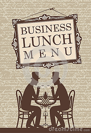 Free Business Lunch Royalty Free Stock Photos - 31022588
