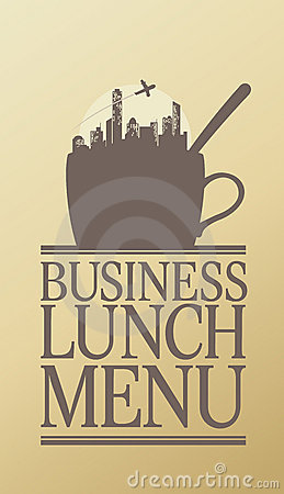 Business Lunch menu.