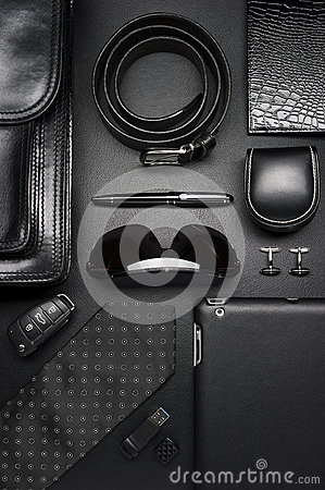 Free Business Man Accessories Royalty Free Stock Photos - 83329728