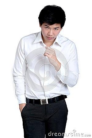 Business man Attractive smart