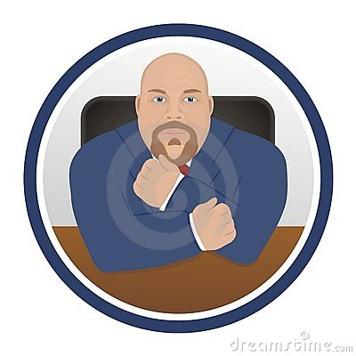 Business Man - Character Icon