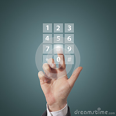 Compose telephone number
