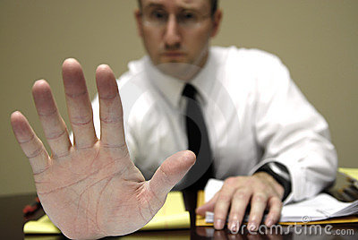 Business Man At Desk Stock Photography - Image: 12603852