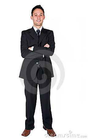 Business man - full body