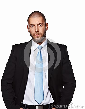 Free Business Man In A Suit. Royalty Free Stock Images - 112957439