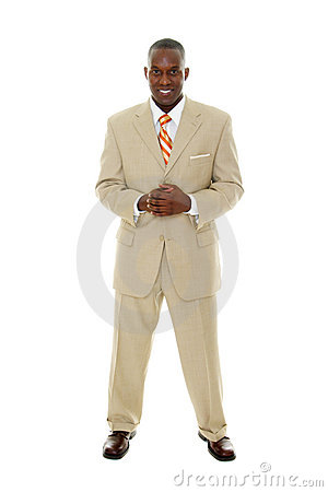 Free Business Man In Tan Suit Stock Photography - 2891612