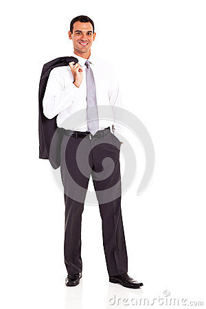 Business man jacket