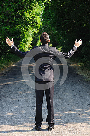 Free Business Man Pray Stock Images - 25801884