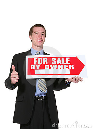 Business Man Selling