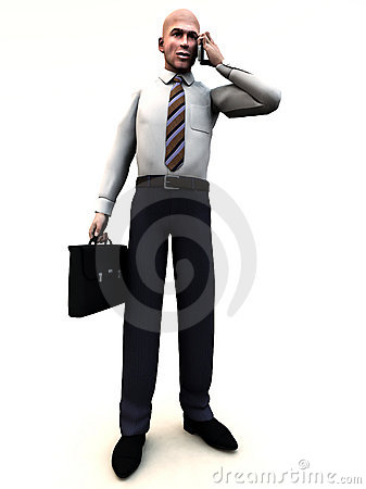 Business Man Standing 11