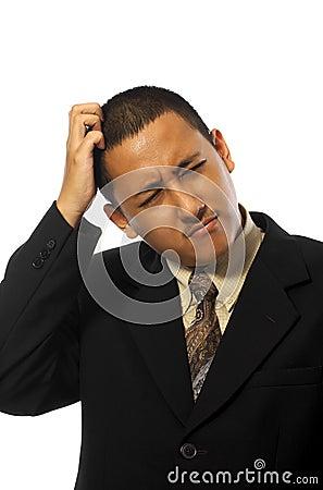 Business Man Stress