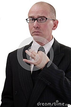 Free Business Man Tie Too Tight Stock Photos - 3871593