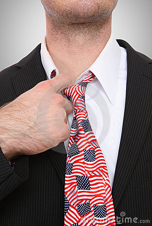 Business Man United States Tie
