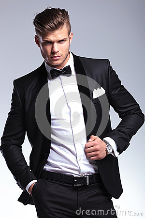 Free Business Man With Hand In Pocket And On Jacket Stock Photo - 31846470