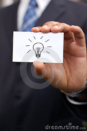 Free Business Man With Idea Royalty Free Stock Photo - 15817905