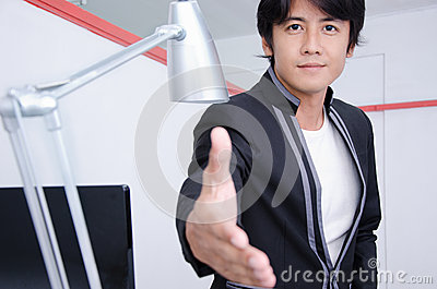 Business Man With You Stock Photos - Image: 27285873