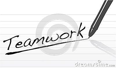 Business marketing teamwork concept