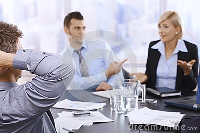 Business meeting