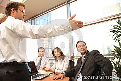Business meeting,presentation