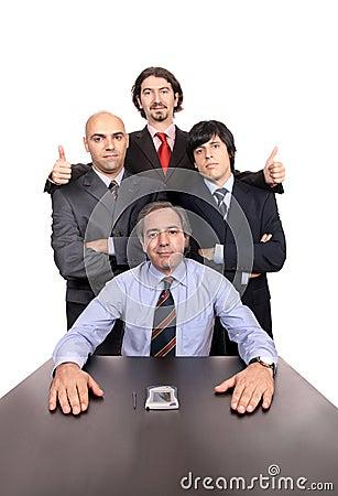 Business men portrait