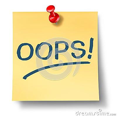 Free Business Mistakes Stock Photos - 25375913
