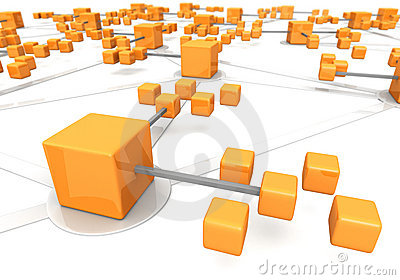 Business network concept marco effect