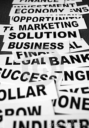 Free Business New Headlines Stock Images - 5488194