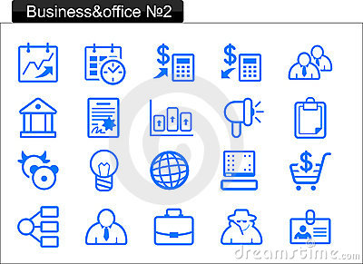 Business/office icons (2)