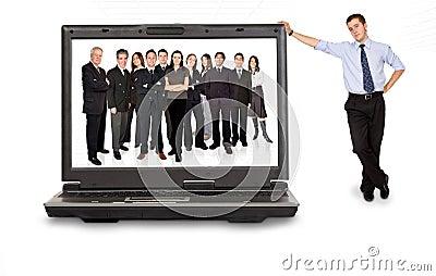 Business online team