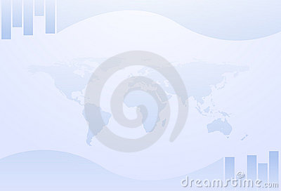 Business pale background
