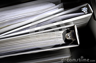 Business Papers Binder Files
