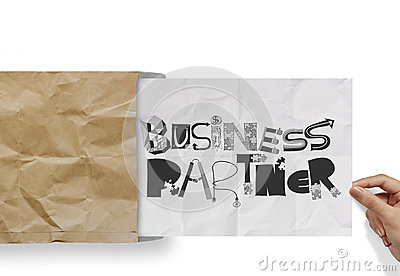 BUSINESS PARTNER as concept